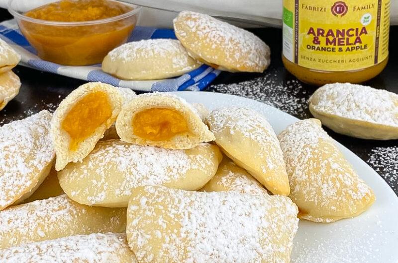 Frollini di ricotta senza zucchero ripiedi di marmellata