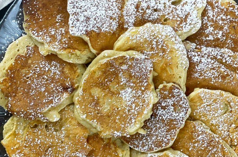 Pancakes leggeri alle mele